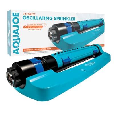 Turbo Oscillation 3 Way Sprinkler with Range, Width, Flow Control