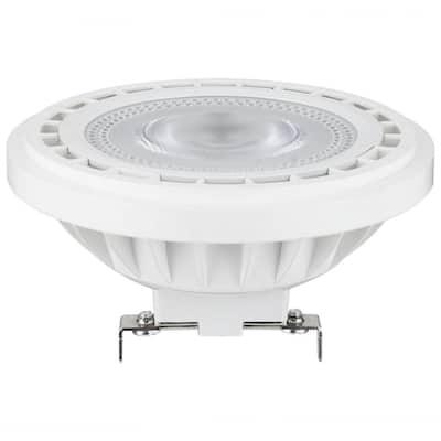 50-Watt Equivalent AR111 Aluminum Reflector G53 Base 24-Degree Spotlight LED Light Bulb in Warm White 3000K (1-Bulb)