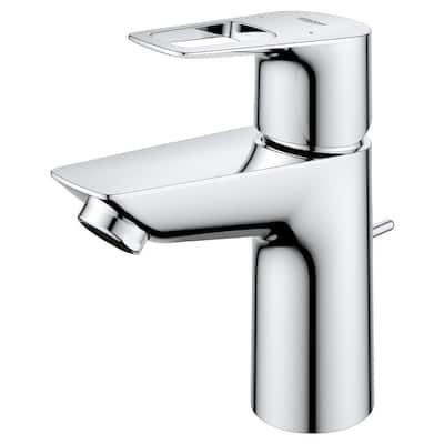 BauLoop Single-Handle Single Hole Bathroom Faucet in StarLight Chrome