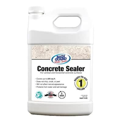 1 Gal. Concrete Sealer Clear Water Based Repellent Waterproofer