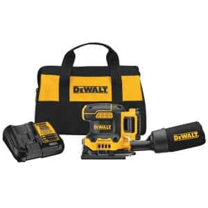 20-Volt MAX XR Cordless Brushless 1/4 Sheet Variable Speed Sander with (1) 20-Volt Battery 2.0Ah & Charger