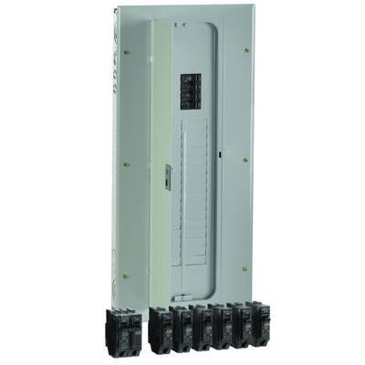 PowerMark Gold 200 Amp 32-Space 40-Circuit Indoor Main Breaker Value Kit Includes Select Circuit Breakers