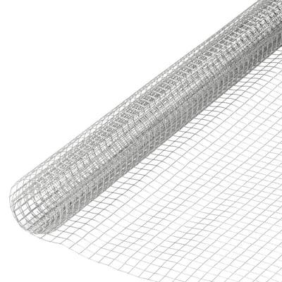 3 ft. x 10 ft. 23-Gauge 1/4 in. Mesh Galvanized Hardware Cloth