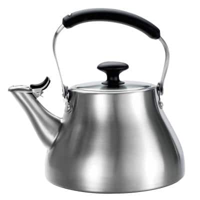 Good Grips Classic 6.8-Cup Brushed Stainless Steel Tea Kettle