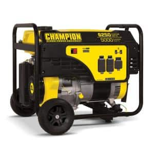 6250/5000-Watt Gasoline Powered Recoil Start Portable Generator