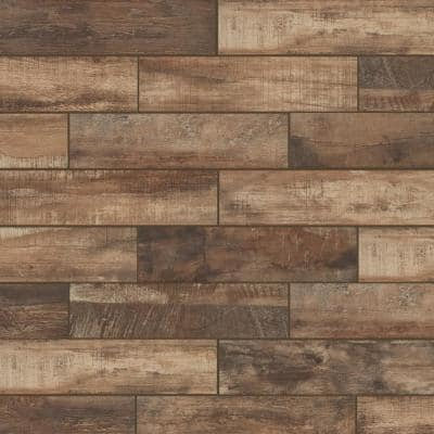 Wind River Beige 6 in. x 24 in. Porcelain Floor and Wall Tile (448 sq. ft. / pallet)