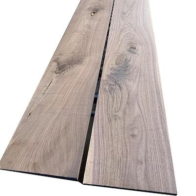 1 in. x 12 in. x 8 ft. Walnut S4S Board (2-Pack)