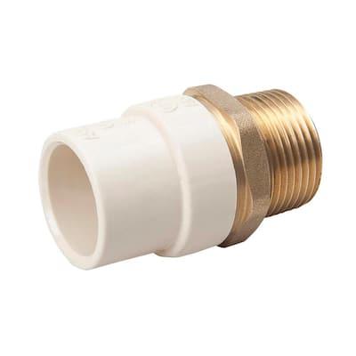 3/4 in. CPVC Slip x Brass MIP Adapter