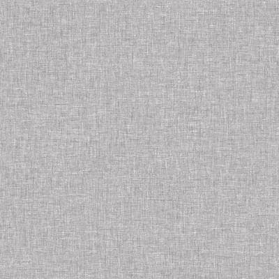 Linen Texture Mid Grey Peel and Stick Non-Woven Paper Wallpaper