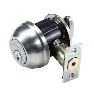 Platinum Series Malaga Single Cylinder Stainless-Steel Grade 2 Deadbolt