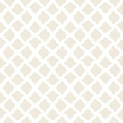 Creative Covering 18 in. x 20 ft. Talisman Pale Gray Self-Adhesive Vinyl Drawer and Shelf Liner (6-Rolls)