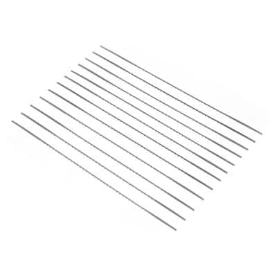 #3R Modified Geometry Pinless Scroll Saw Blades, 12-Pack