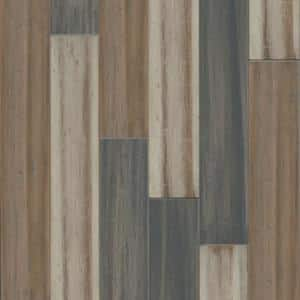 Alonsa 7 mm T x 5.12 in. W x 36.22 in. L Waterproof Engineered Click Bamboo Flooring (15.45 sq. ft./case)