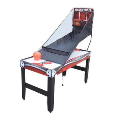 54 in. Scout 4-in-1 Multi-Game Table with Basketball, Air Hockey, Table Tennis and Dry Erase Board