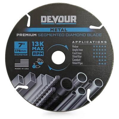 7.0 in. Premium Diamond Metal Cutting Blade