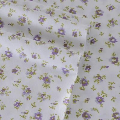 Petite Fleur Floral 300-Thread Count Cotton Sheet Set