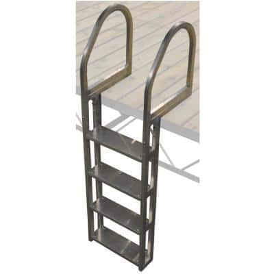 4-Step Aluminum Ladder
