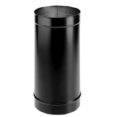 DuraBlack 6 in. x 48 in. Single-Wall Chimney Stove Pipe