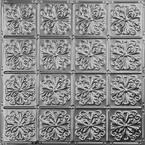 Pattern #27 24 in. x 24 in. Brushed Satin Nickel Tin Wall Tile Backsplash Kit (5 pack)