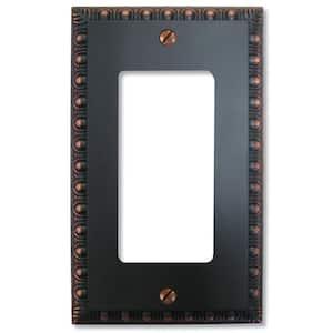 Bronze 1-Gang Decorator/Rocker Wall Plate