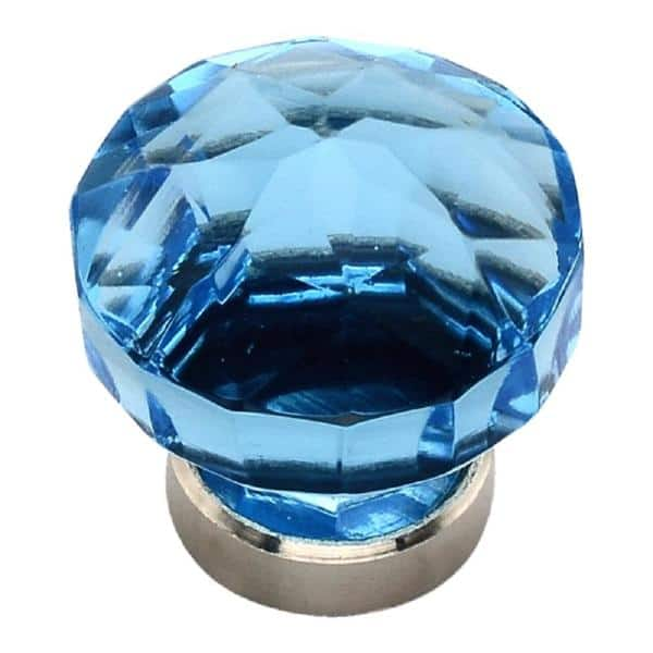 Mascot Hardware 1 1 2 In Quartz Crystal Cabinet Knob Ck478 The Home Depot