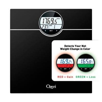 WeightMaster (440 lbs / 200 kg) Bath Scale with BMI, BMR and 50 gram Weight Change Detection