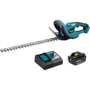 22 in. 18-Volt LXT Lithium-Ion Cordless Hedge Trimmer Kit with (1) Battery 4.0Ah and Charger