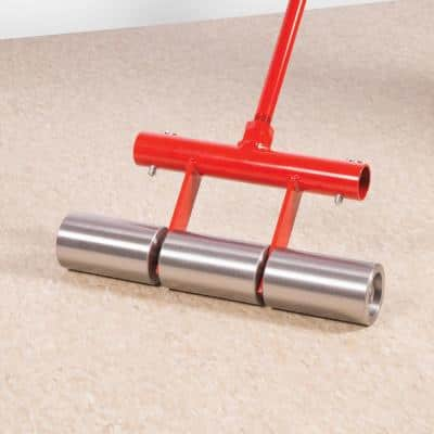 35 lb. Vinyl, Linoleum and Carpet Floor Roller with Segmented Rollers