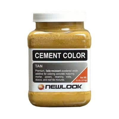 0.5 lb. Tan Fade Resistant Cement Color