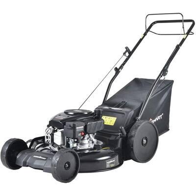 22 in. 3-in-1 170 cc Gas Self Propelled Walk Behind Lawn Mower