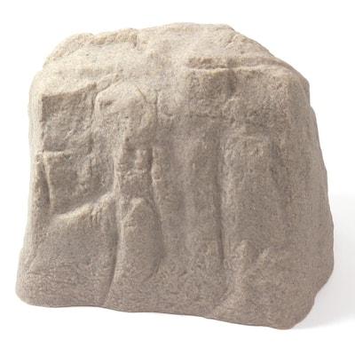 18-1/2 in. L x 24 in. W x 17-1/2 in. H Sandstone Large Resin Landscape Rock