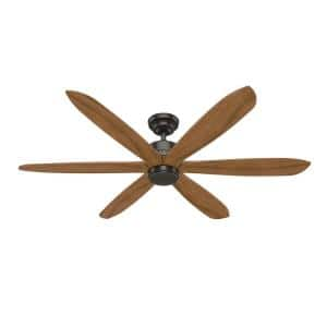 Rhinebeck 58 in. Indoor Noble Bronze Ceiling Fan with Wall Control