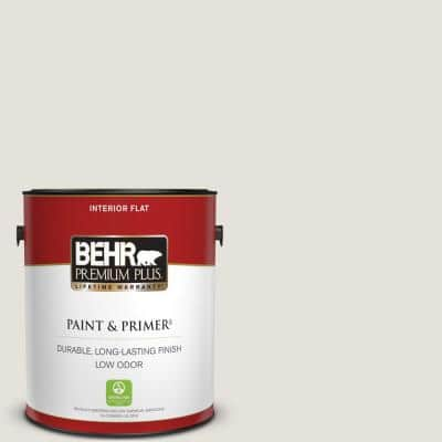 1 gal. #PPU18-08 Painters White Flat Low Odor Interior Paint & Primer
