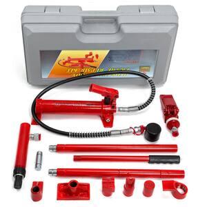 4-Ton Porta Power Body Frame Repair Hydraulic Jack Tool Kit