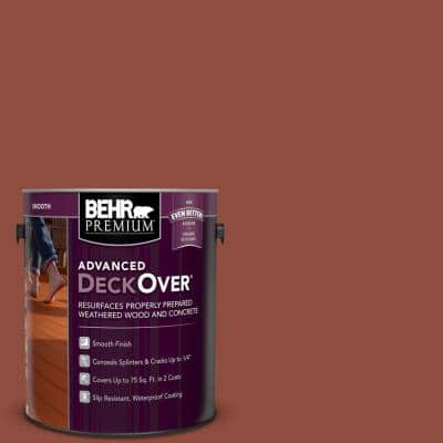 1 gal. #SC-330 Redwood Smooth Solid Color Exterior Wood and Concrete Coating