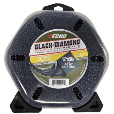".105"" Black Diamond Trimmer Line (217 ft.) Large Clam"