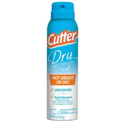 4 oz. Dry Mosquito Insect and Repellent Aerosol Spray