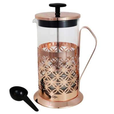 Trellise 32 oz. Rose Gold Coffee Press