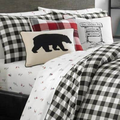 Mountain Plaid Cotton Comforter Set