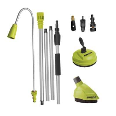 5-Piece Home Cleaning System for Most Pressure Washers with Universal Adapters for Most Brands Up to 3500 PSI