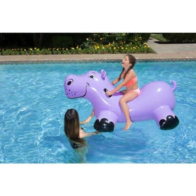 Happy Hippo Swimming Pool Float Rider