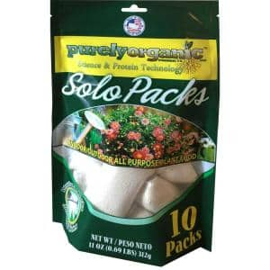 0.69 lb. Organic Indoor/Outdoor Water Soluble Plant Food Solo Packs