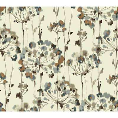 45 sq. ft. Flourish Premium Peel And Stick Wallpaper