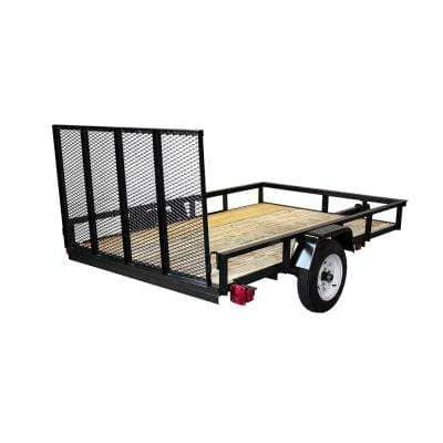 Triple Crown 1520 lb. Capacity 5 ft. x 8 ft. Utility Trailer