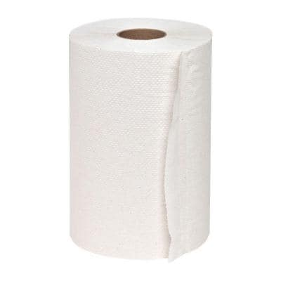 Hard-Wound Roll Paper Towels (12 Rolls)