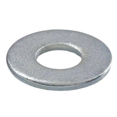 3/8 in. Zinc Flat Washer (100-Pack)