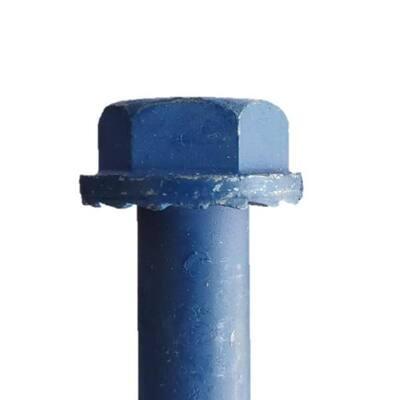 1/2 in. x 4 in. Steel Hex Washer-Head Indoor/Outdoor Concrete Anchors (10-Pack)