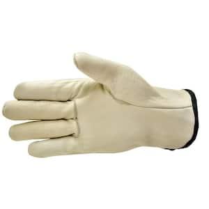 Medium Premium Genuine Grain Cowhide Leather Gloves