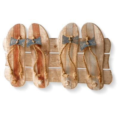 19 in. Wooden Decoration
