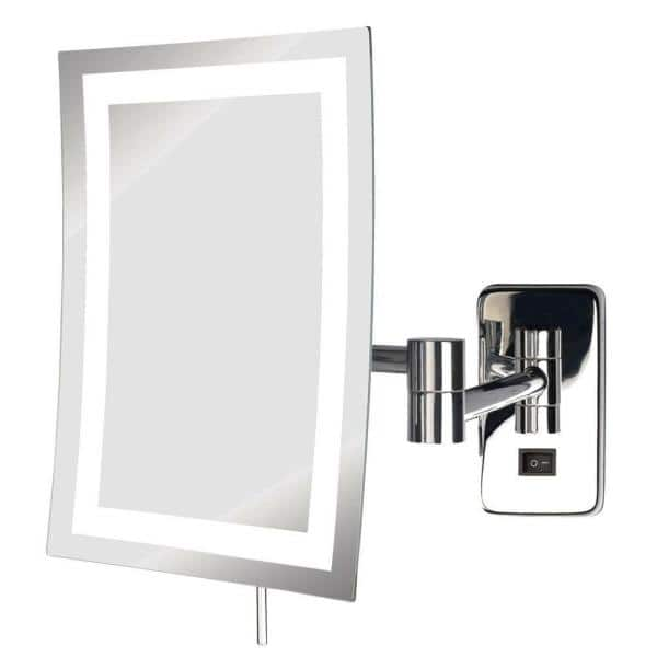 See All 6 In X 9 Frameless Led, Makeup Mirror Lighted Wall Mount